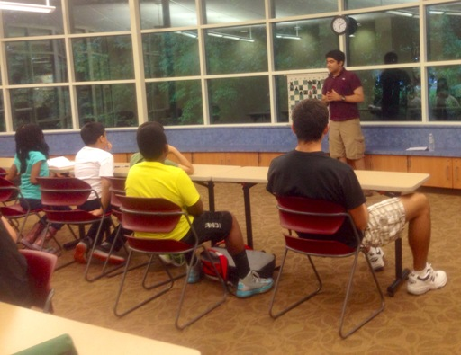 Chess Program at the Library - Week 3 - 1