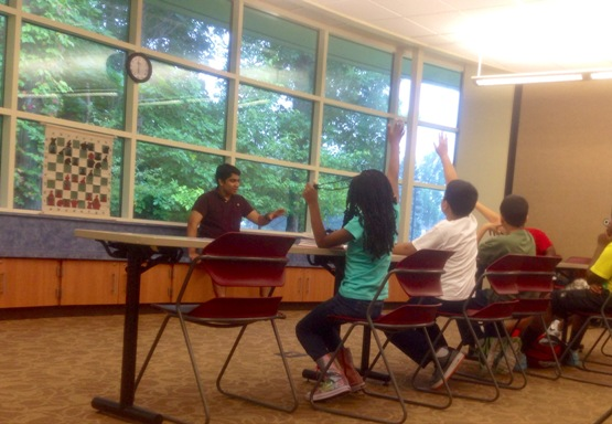Chess Program at the Library - Week 3 - 2